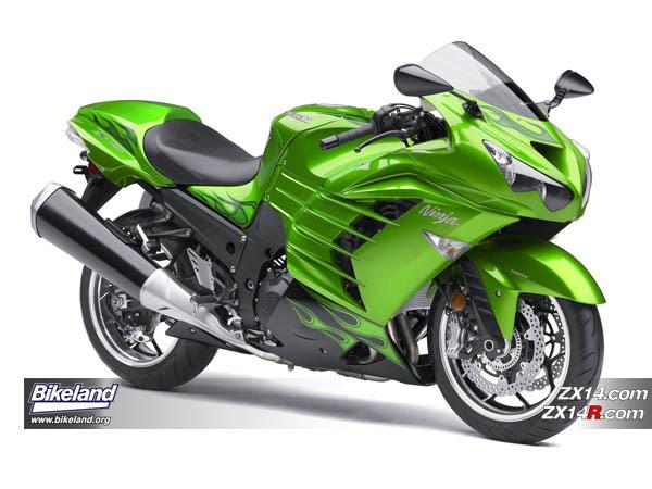 2012 Kawasaki Zx 14r Released New Ninja 650 Updated Ninja