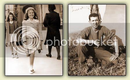 Mom and David 1942