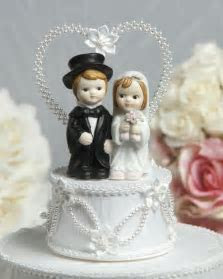 Cute Child Wedding Cake Topper   Wedding Cake Topppers
