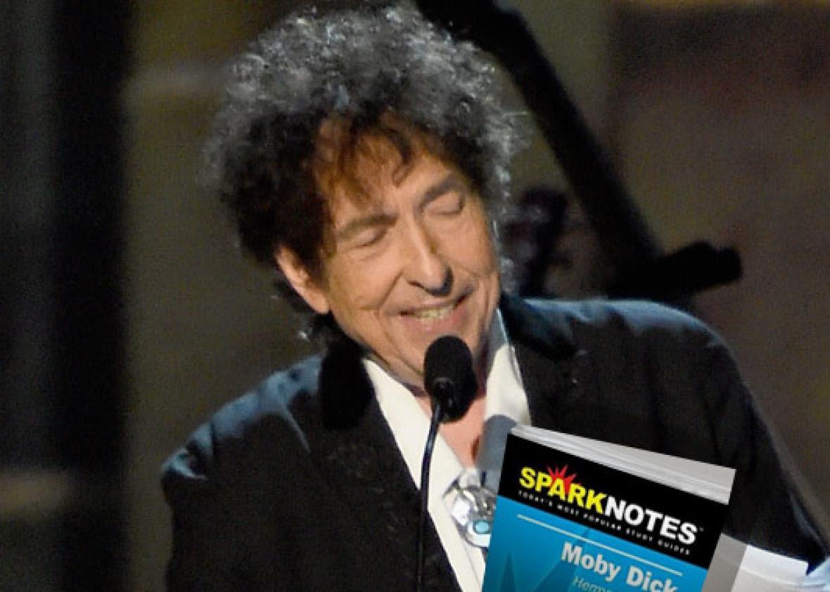 Honoree Bob Dylan