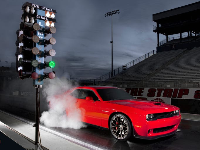 Dodge is expecting big things from its Challenger with the 707-horsepower Hellcat engine