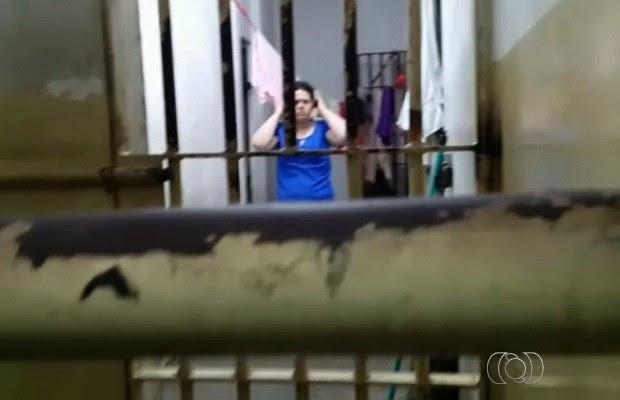 Operário atropelado por jovem que admitiu ter bebido tem estado regular em Goiás (Foto: Reprodução/TV Anhanguera)