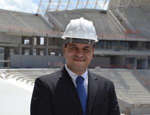 Rodrigo Hermida, gerente de voluntariado do COL - Copa do Mundo, Natal (Foto: Jocaff Souza)