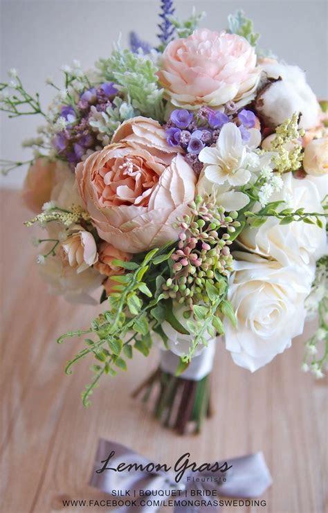 79 best Silk Flower Bouquets images on Pinterest   Silk