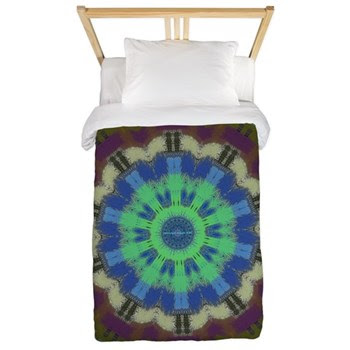 Winter Lake Twin Duvet