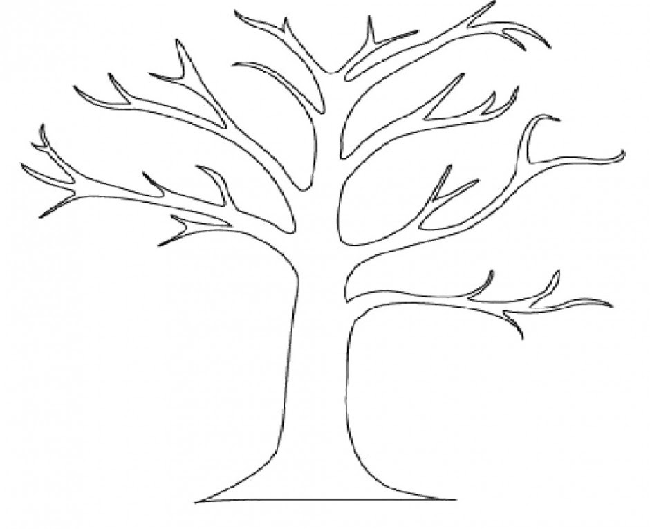 Free Tree Drawing Outline Download Free Clip Art Free Clip Art On