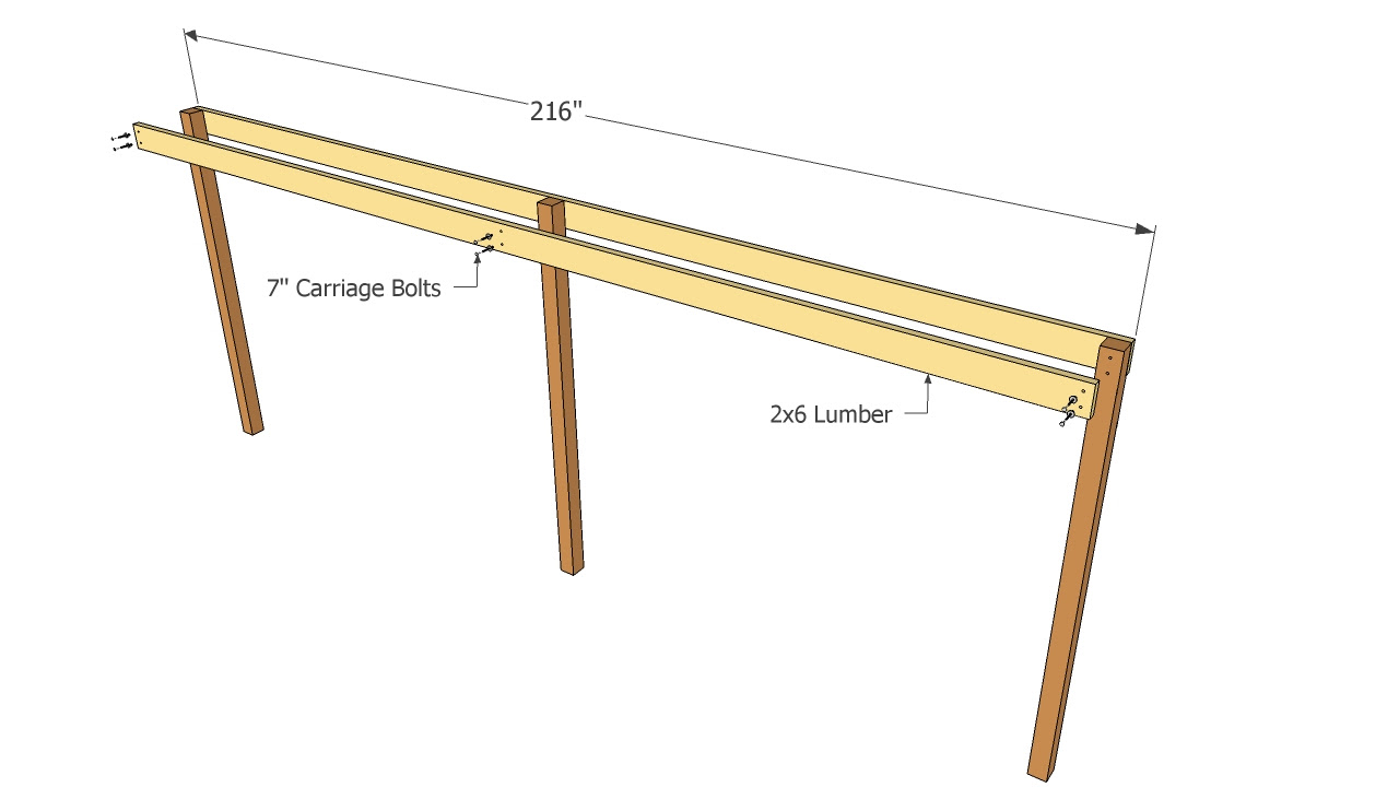 Attached carport plans | Free Outdoor Plans - DIY Shed, Wooden ...