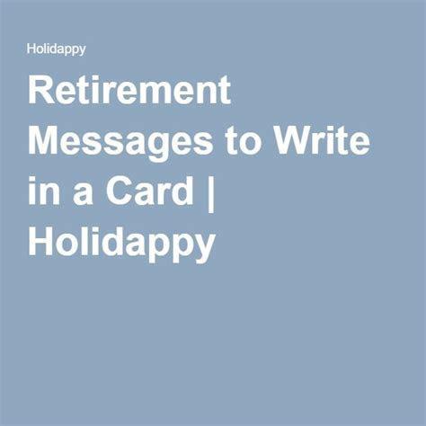 Best 25  Retirement messages ideas on Pinterest