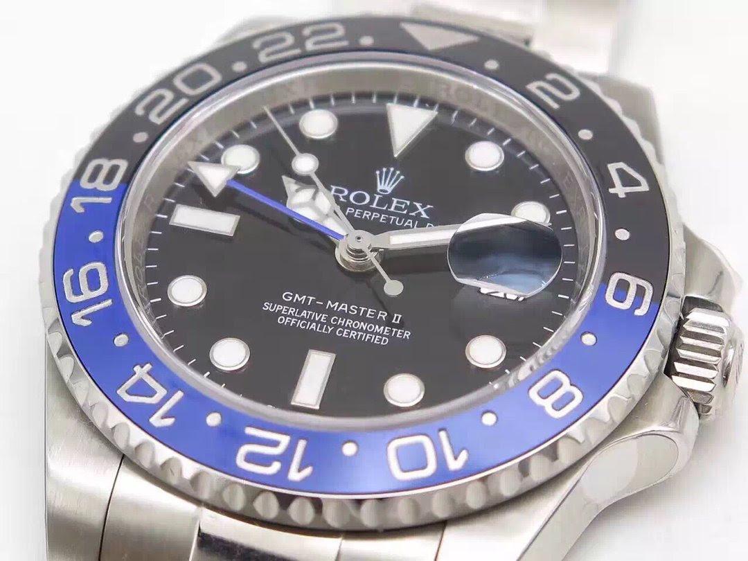 Replica Rolex GMT Master II 116710 BLNR Dial