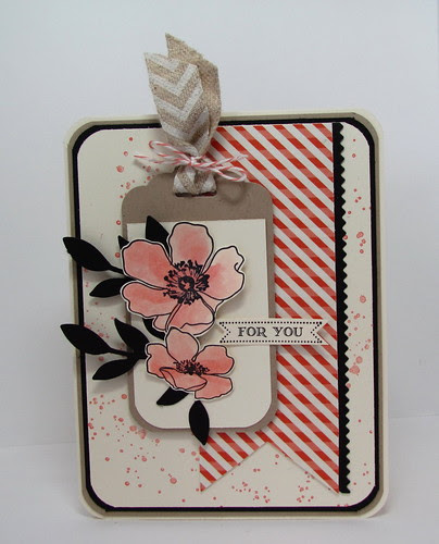 Fabulous Floral Tag by Andrea G71