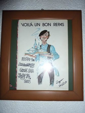 petit salon pour deguster son expresso ou autre - Picture of Chez ...