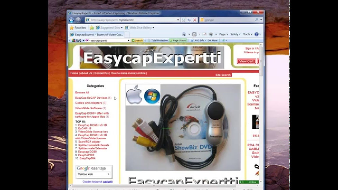 Windows and Android Free Downloads : Easycap Driver Windows Xp