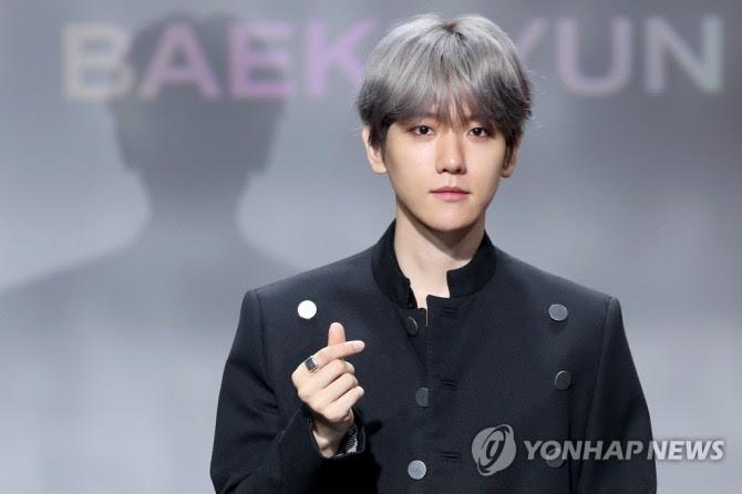 Exo S Baekhyun Makes Solo Debut