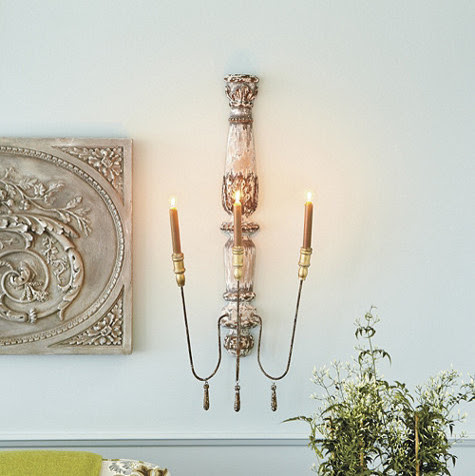 Valletta Candle Sconce - traditional - candles and candle holders ...