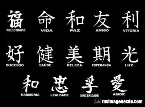 Imágenes De Letras Chinas Imágenes