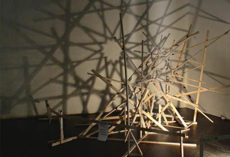 shadow art geometric design
