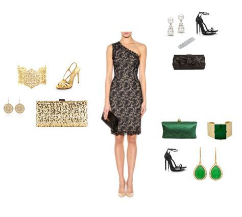 style q: accessorizing lace dress for black tie wedding