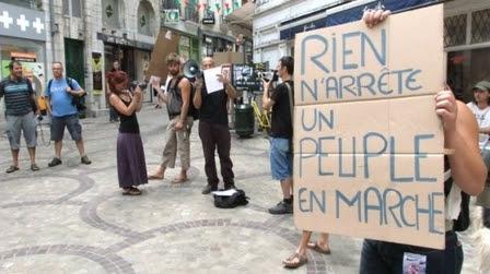 Pour les Indignés, lheure est à la mobilisation mondiale #marchabruselas #walktobrussels | The Marches to Brussels | Scoop.it