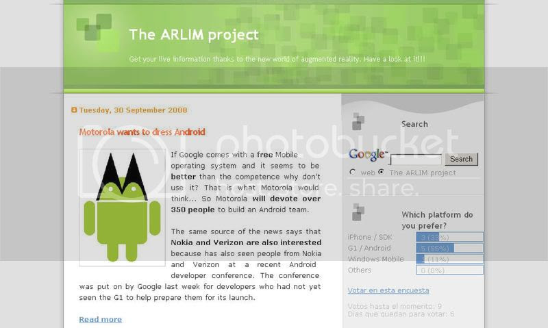 The ARLIM project blog