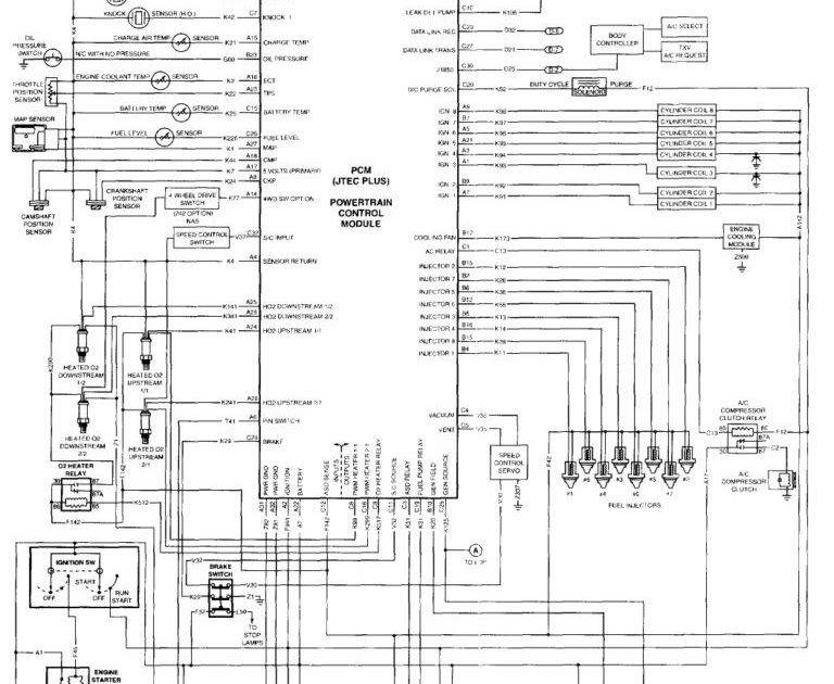 Chrysler Town And Country Wiring Diagram - Wiring Schema