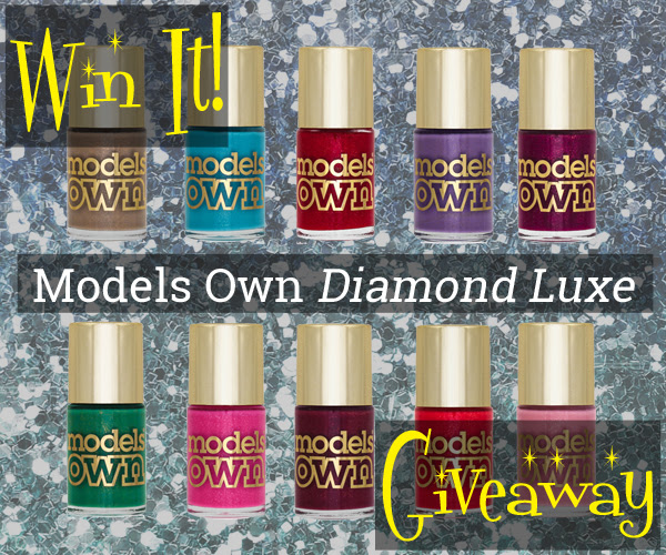 Models Own Diamond Luxe Giveaway via @alllacqueredup