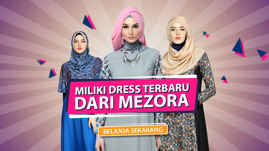 Contoh Spanduk Toko Baju Muslim - Hijab Salwa