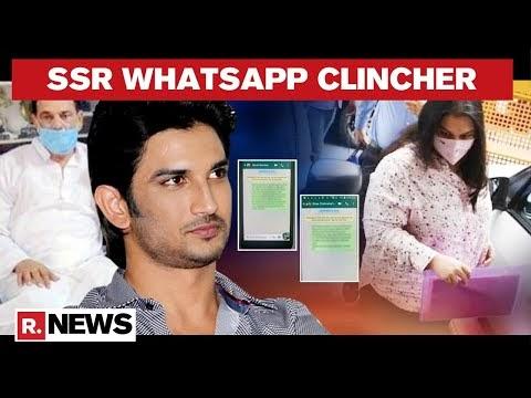 Whatsapp Messages Expose Rhea Chakraborty