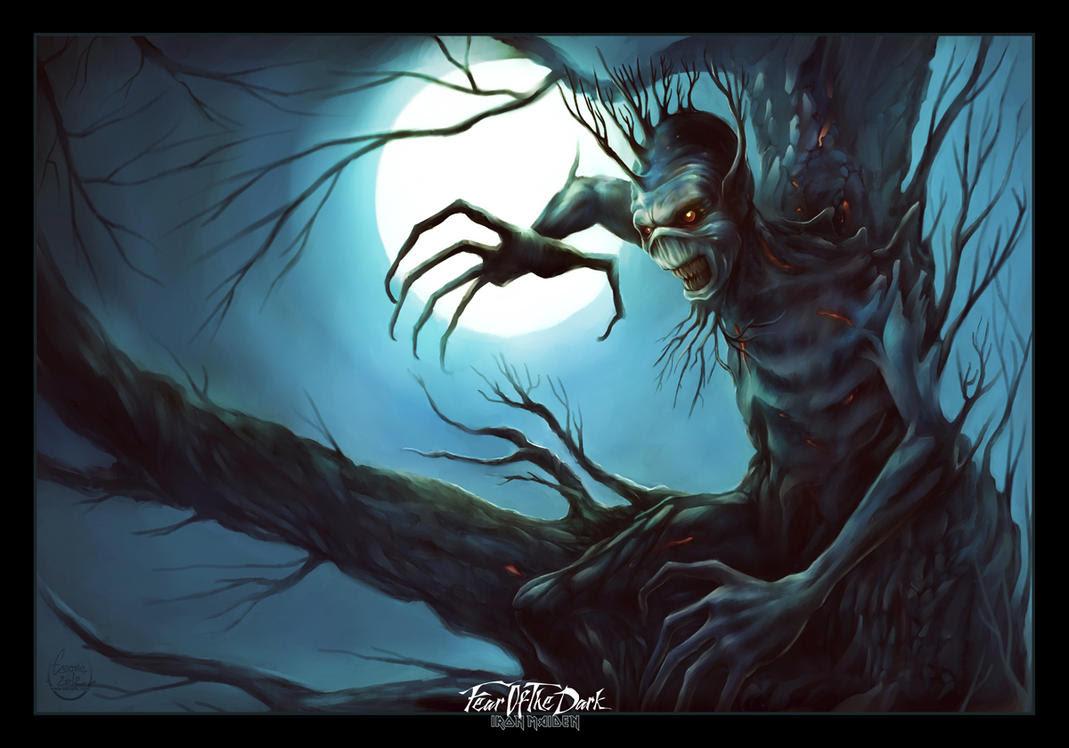 Iron Maiden Fear Of The Dark Wallpaper