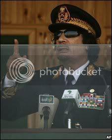 Col. Muammar Gaddafi, Libya