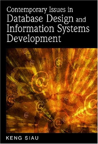 [PDF] Contemporary Issues in Database Design and Information Systems Development Free Download