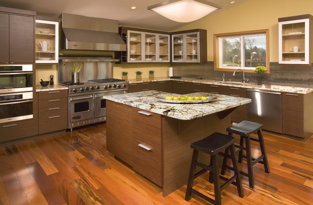 Asian style kitchen - Asian - Kitchen - Seattle - by ...
