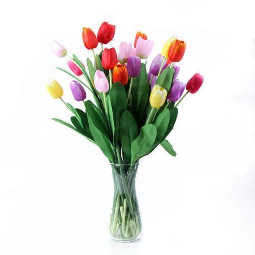 Artificial Tulips: Floral Decor  eBay