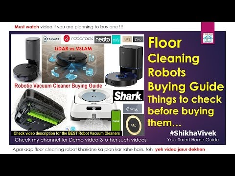 Best Floor Cleaning Vacuum & Mopping Robots for India Homes