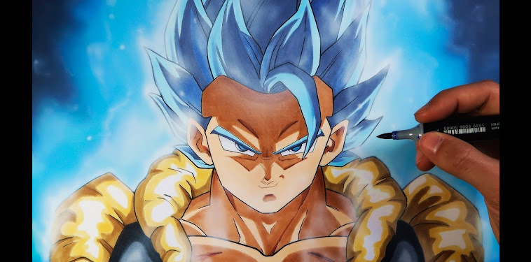 Dibujos De Gogeta Ssj Blue Dragon Ball Super Broly