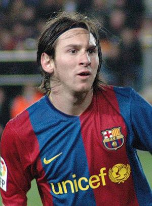 Català: Lionel Messi, jugador del Futbol Club ...