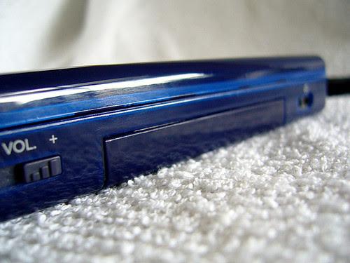 Nintendo DS Lite Enamel Navy 110V with M3 Lite Adaptor Front