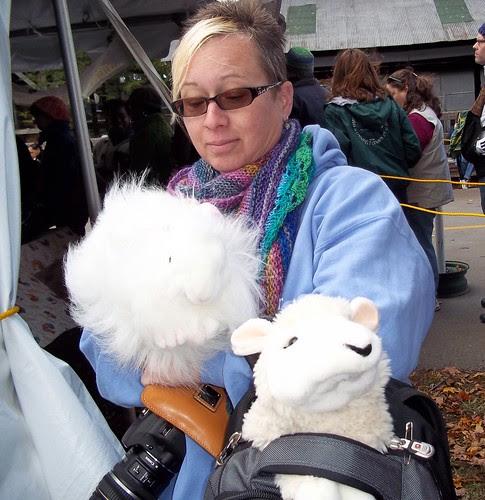Lorrie & her bunny