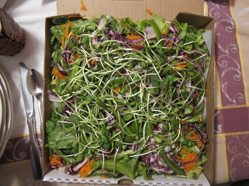 Casa Nueva side salad to go
