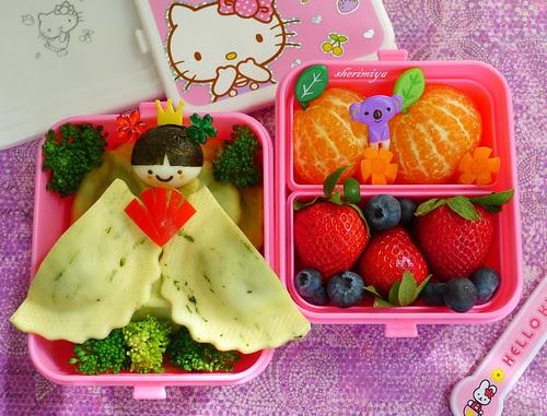 Happy Girls' Day Bento by sherimiya ♥