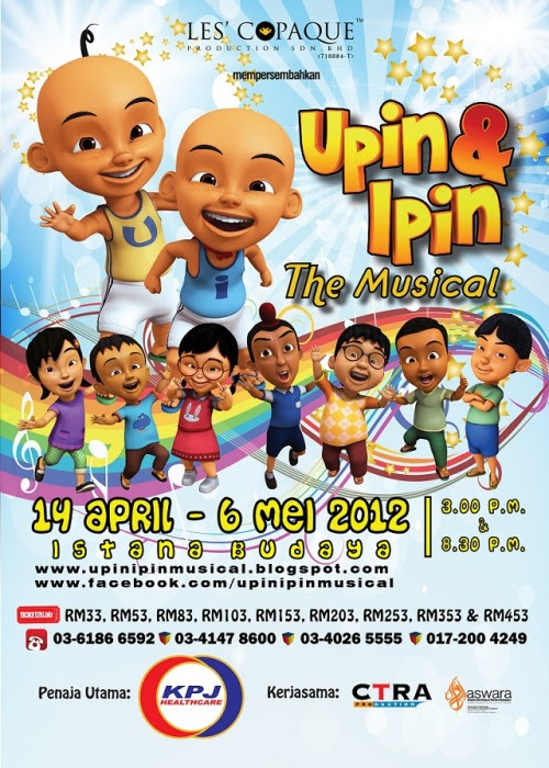 Upin & Ipin The Musical 2012