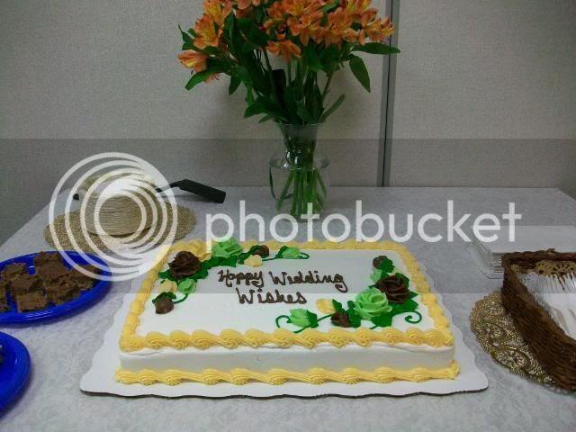wedding shower cake library