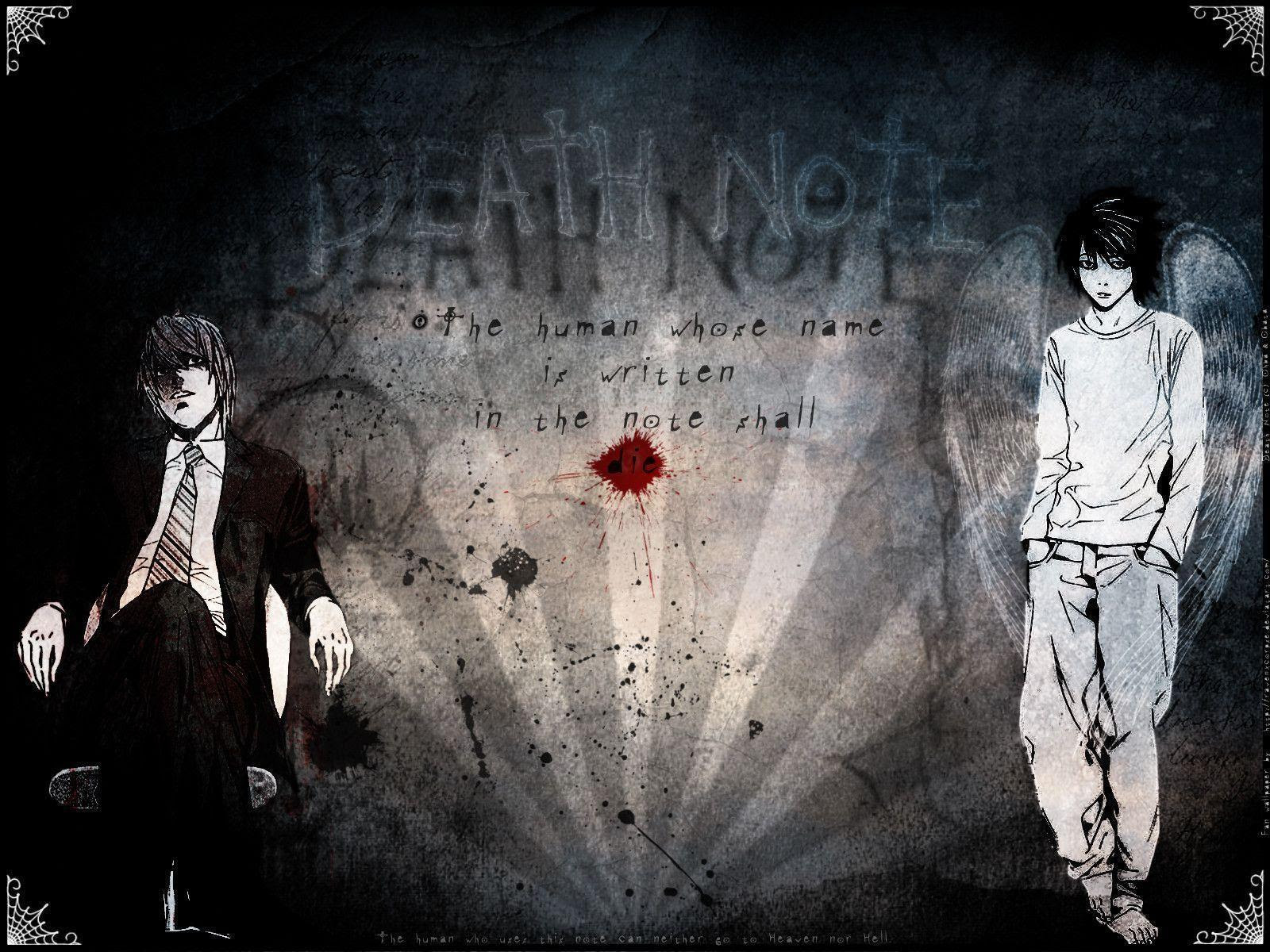 Death Note Backgrounds - Wallpaper Cave