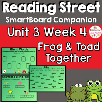 Frog and Toad Together SmartBoard Companion Reading Street