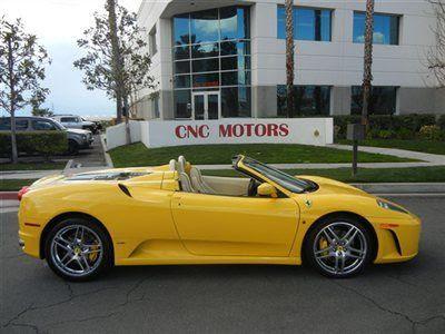 Buy Used 2006 Ferrari F430 Spider Giallo Modena 6 Speed