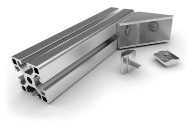 Perfiles de aluminio para la producción industrial