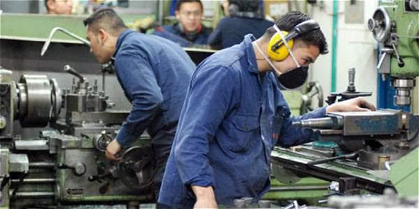 La industria manufacturera reportó números negativos con el 0,2 por ciento menos de empleos.