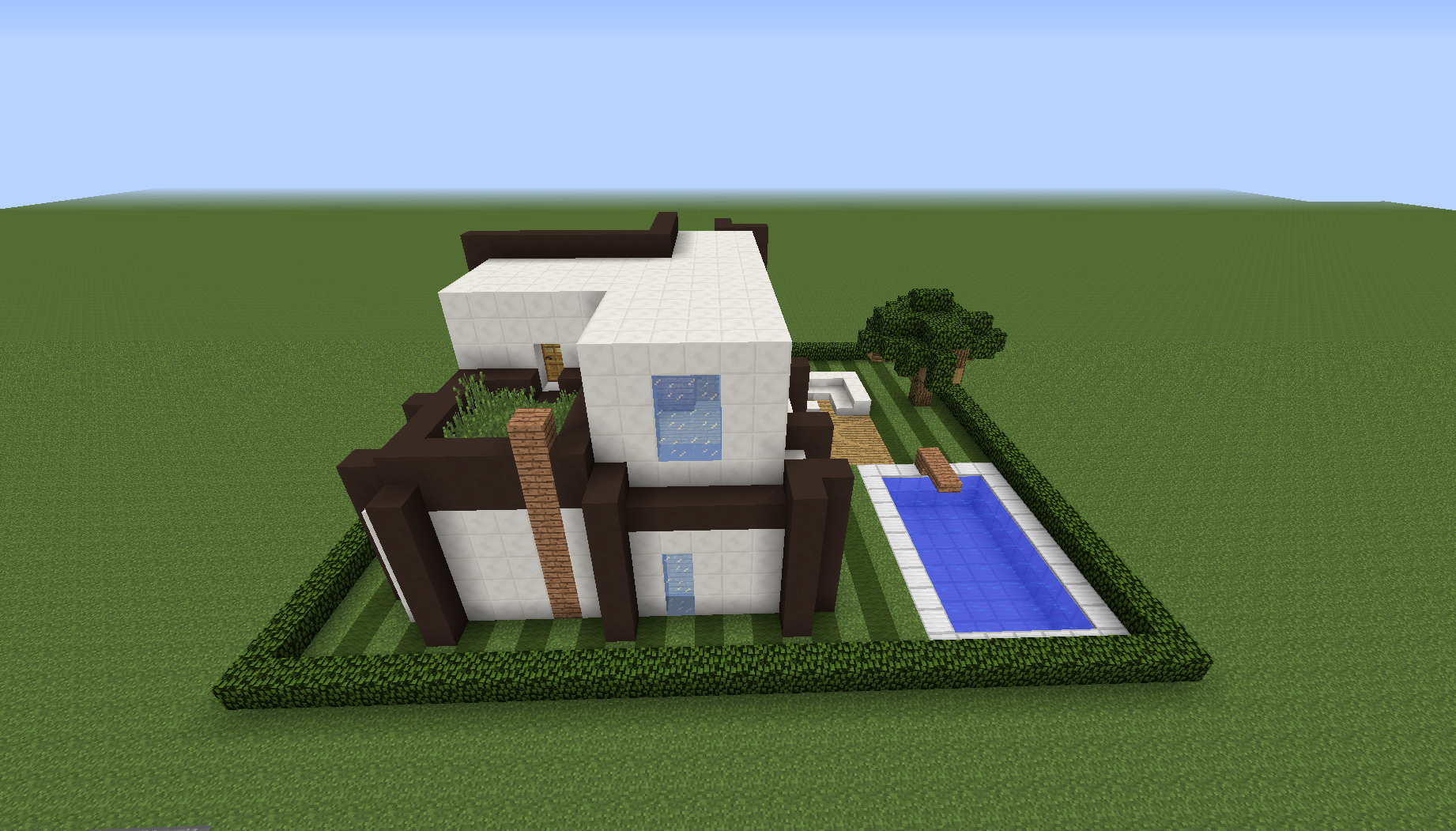 Modern House Plans Minecraft Design For Home