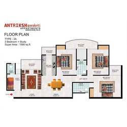 2 Bedroom One Bath Apartment Floor Plans