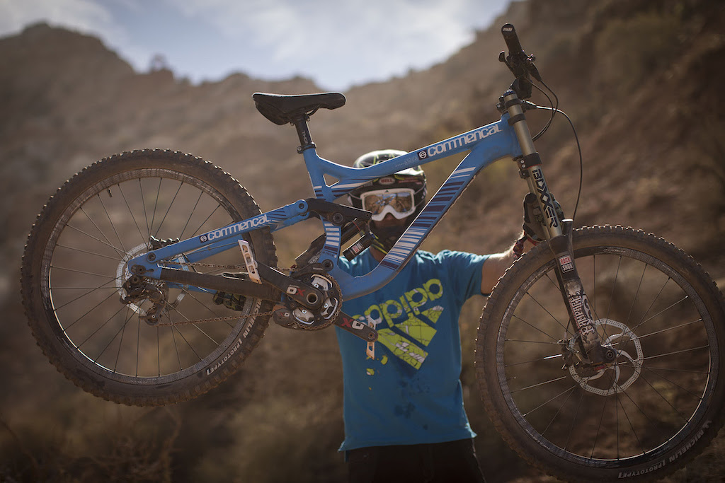 Pierre Edouard Ferry at Redbull Rampage 2012