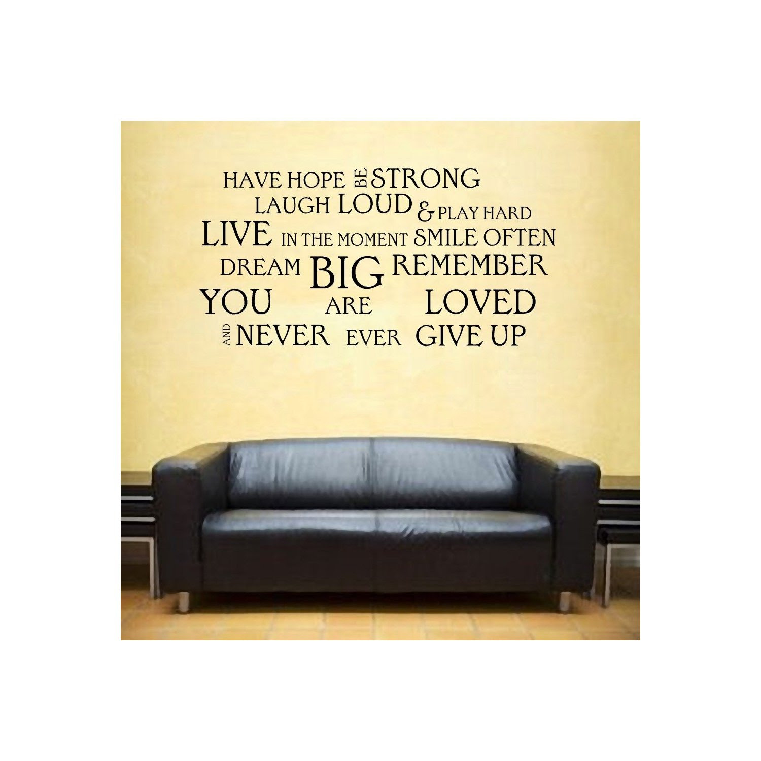 Inspirational Vinyl Wall Quotes. QuotesGram